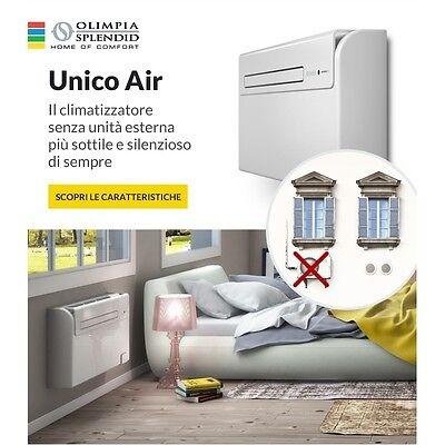 3S NUOVO CLIMATIZZATORE UNICO AIR OLIMPIA SPLENDID 8 HP con POMPA DI CALORE New 2