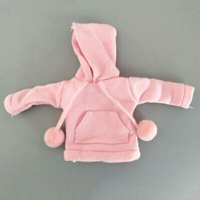 Pink Sweatshirt Doll Clothes Outfits Leather Pants Canvas Shoes For 1/6 Doll Toy 12