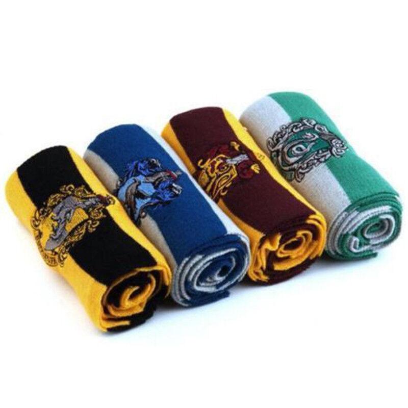 Harry Potter Adults Kids Cloak Robe Cape Scarf Tie Fancy Dress Cosplay Costume 8