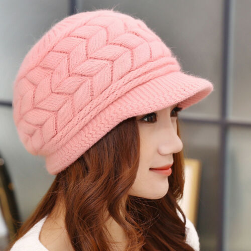 Fashion Women Ladies Winter Warm Cotton Crochet Slouch Baggy Ski Beanie Hat Caps