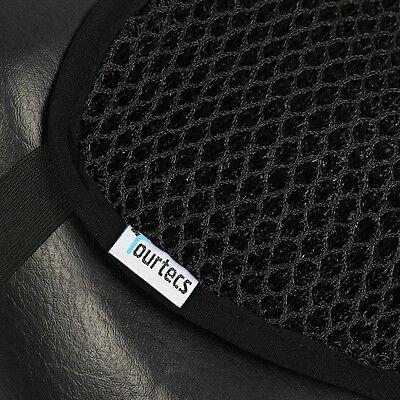Housse de Selle pour Yamaha XJR 1200// SP Tourtecs Noir Mate