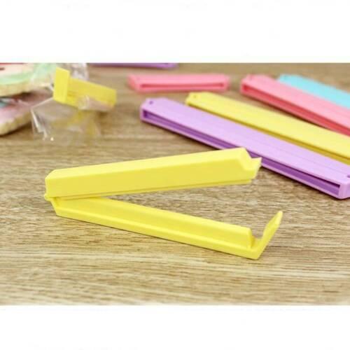 12pcs/set Size Househould Seal Pliers Food Snack Storage Sealer Clip Clamp L 3