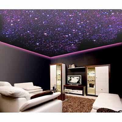 LUNARTEC GLASFASER RGB LED STERNENHIMMEL MIT Fernbedienung