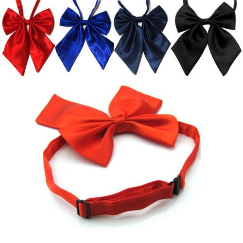 Cravate formelle de noeud papillon en soie pour femme