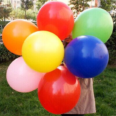 18inch Colorful Big Latex Balloons Wedding Balloon Birthday Party Decor 6