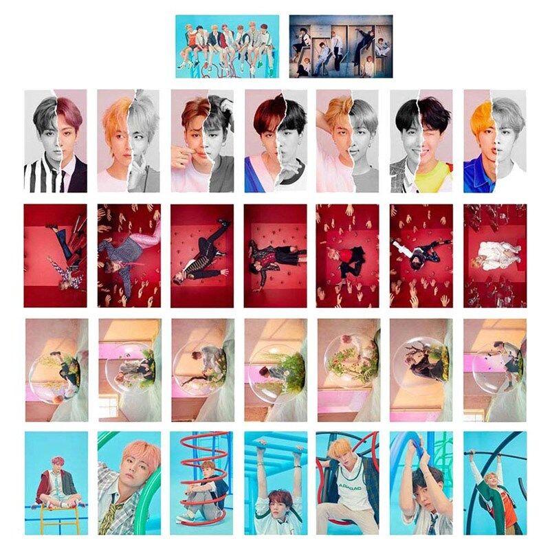 30pcs/set KPOP BTS LOVE YOURSELF 結 ANSWER LOMO Card Mini Poster Photo Cards 4