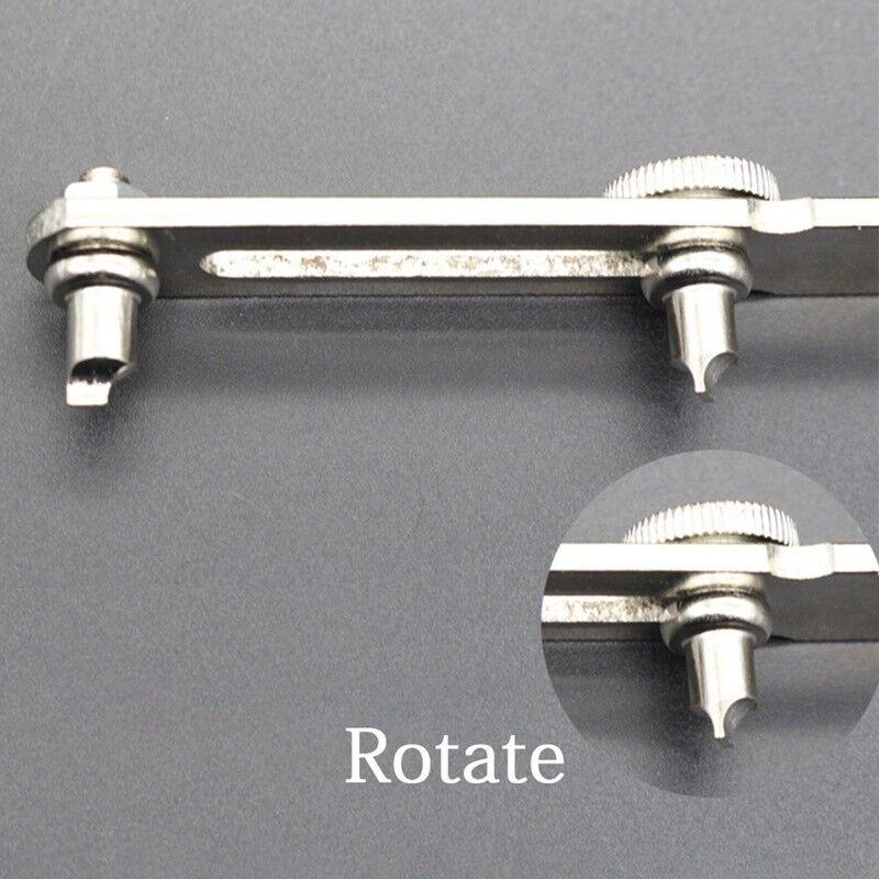 Ouvreur de montres Outil d'horloger Montres Réparation de couvercle ouvreur 4