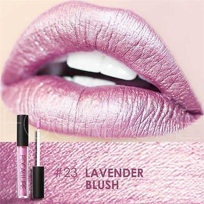 FOCALLURE 25 Colors Long Lasting Waterproof Matte Lipstick Liquid Gloss Cosmetic 9