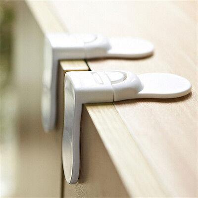 1~5 x Child Baby Kids Toddler Safety Drawer Door Cabinet Cupboard Fridge Lock TH 3