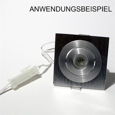 AMP NV Stecksystem 1m Verlängerungskabel weiß 2-polig