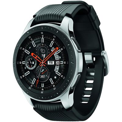 BUNDLE Samsung Galaxy Bluetooth Watch 46mm Silver SM-R800NZSCXAR 3