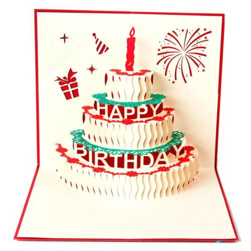 Happy Birthday Karte.Geburtstag Up 3d Luxus Grusskarte Happy Birthday Karte Geschenkkarte Gifts