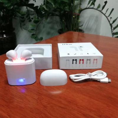Wireless Bluetooth Earphones Headphones Earbuds For Apple iPhone w/ Charging Box