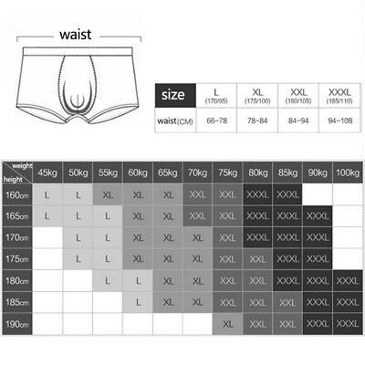 6 Colors Men's Cotton Soft Breathable Comfy Boxers Underwear Bulge Briefs Shorts 9