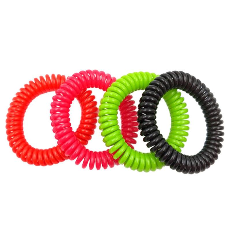 18X Elasticity Rubber Band Elastic Hairbands Hair Rope For Gils Headbands Gum G$ 8
