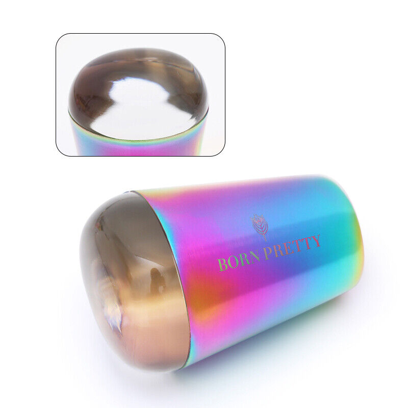 BORN PRETTY Holo  Handle Transparent Stamper for UV Gel Stamping Polish 12