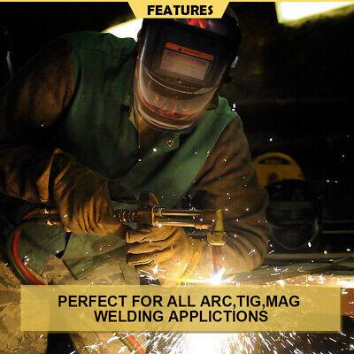 New Solar Auto Darkening Welding Helmet Mask ARC TIG MAG High Quality AU 6