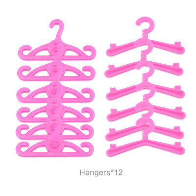 Doll Dresses, Shoes and jewellery Clothes Accessories 85pcs/Set 6