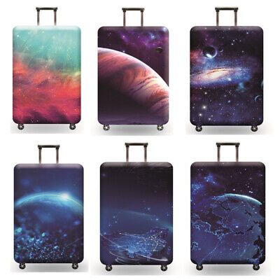 """18"""" - 32"""" Elastic Luggage Cover Suitcase Protector Dustproof Protective Case Bag 3"""