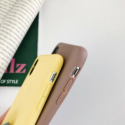 Frosted Matte Candy Soft Silicone Case Cover For iPhone XS Max XR X 8 7 6s Plus 5