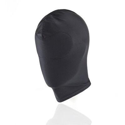 Fetish Harness Head Hood BDSM Slave Game Bondage Bound Restraint Mask #HD3 6