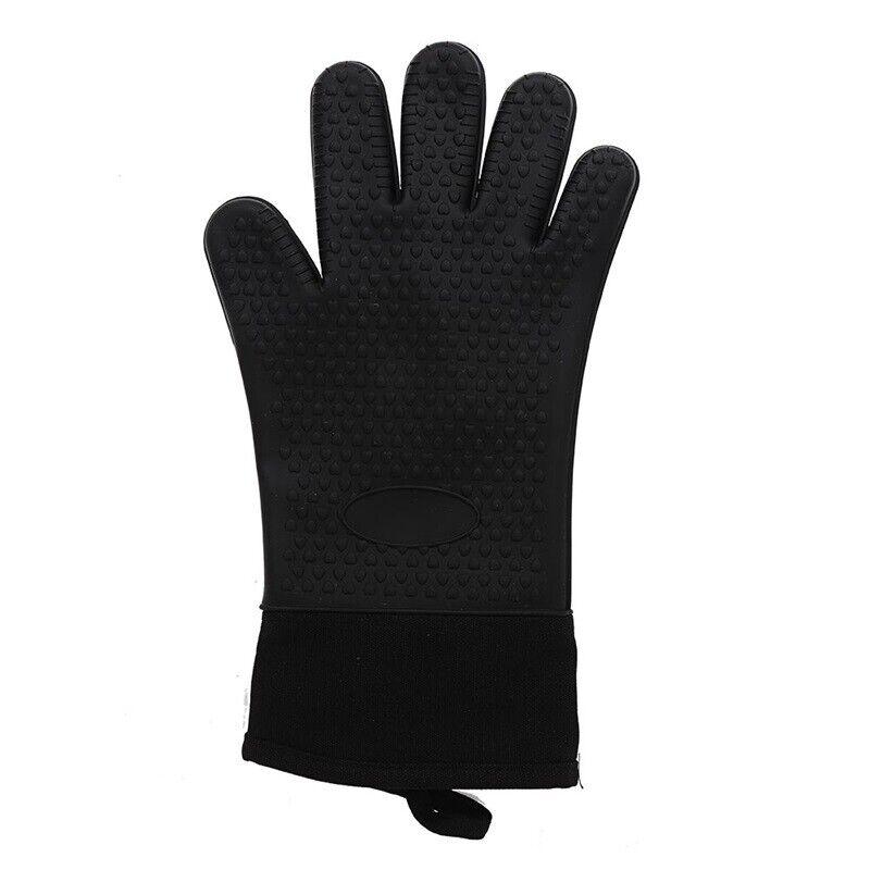 Silikon Ofenhandschuhe Grillhandschuhe Backhandschuhe Hitzebeständig Modus .vzYL 9