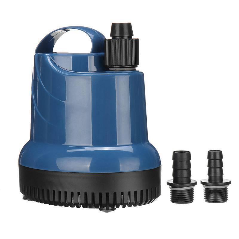220V Ultra-silencieux Pompe à Eau Submersible 1000/3000L Pompe Aquarium Fontaine 9