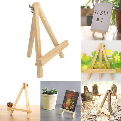 Small Wooden 24cm Easel Stand Wedding Table Number Place