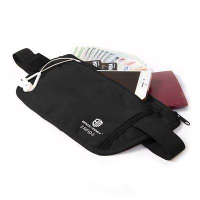 RFID Travel Waist Bum Bag Anti Theft Pouch Belt Passport Holder Safe Strap Sport 7