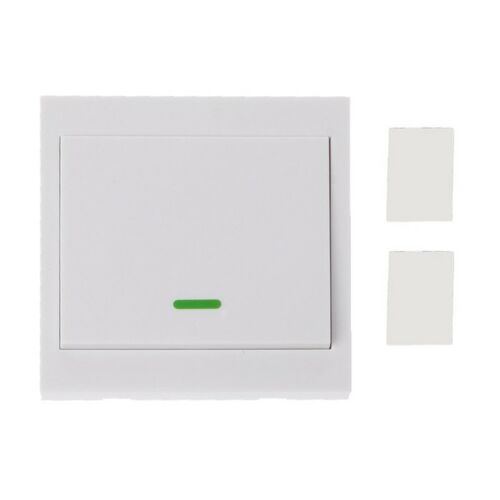 433MHz RF Wireless Remote Control Switch 86 Wall Panel Transmitter 3 2 1Button 2