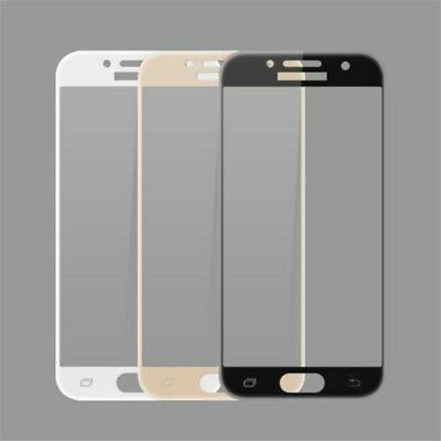 For Samsung Galaxy J3 J5 J7 2016/2017 Full Cover Tempered Glass Screen Protector 4