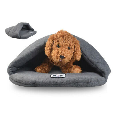 Pet Dog Cave Pad Sleeping Bag Bed Mat Warm Puppy Nest House Soft Cat 6