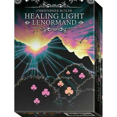 Healing Light Lenormand Oracle Card Deck Butler Lo Scarabeo With Velvet Bag New 2