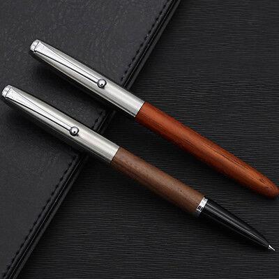 Jinhao 51A Acrylic/Wood Fountain Pen Hooded Iridium Extra Fine 0.38mm Nib Gifts