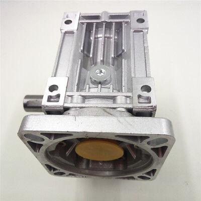 Worm Gear Reducer RV040 NEMA24/34 Speed Gearbox 10 15 20 25 30 40 50 60 80 100:1 8