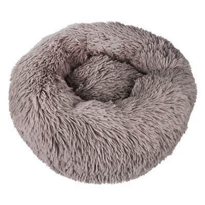 Pet Dog Cat Calming Bed Round Nest Warm Soft Plush Sleeping Bag Comfy Flufy Gift 11