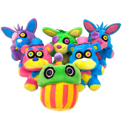 """Five Nights at Freddy's FNAF Horror Game Plush Doll Kids Plushie Toy 4.7"""" 7""""10"""" 9"""