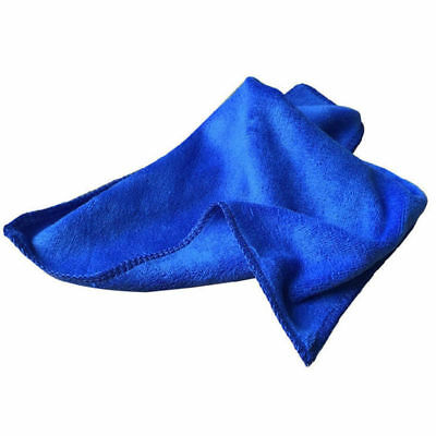 5Pcs Absorbent Microfiber Towel Car Home Kitchen Washing Clean Wash Cloth Blue 6