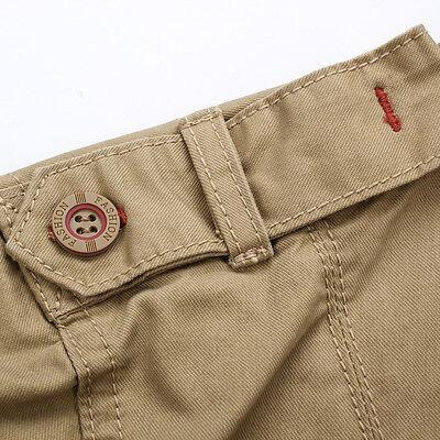 ddaf100ae0 ... Men s Casual Slim Fit Military Style Long Sleeve Cotton Khaki Cargo  Jean Shirt 8
