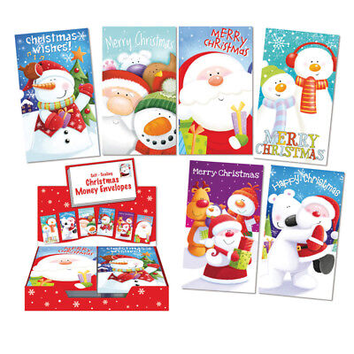 Packs Christmas Money Wallets Gift Voucher Presents Self Sealing 1,4, 6 EASTER 6