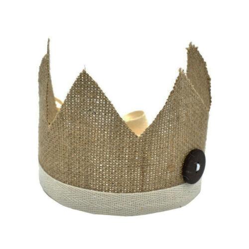 Infants Newborn Baby Fashion Crown Hat Photo Photography Prop Headwear LD 8