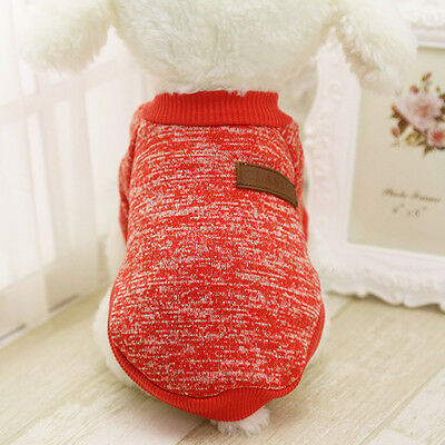 Cotton Pet Cat Dog Jacket Winter Clothes Small Puppy Doggie Sweater Coat Apparel 10