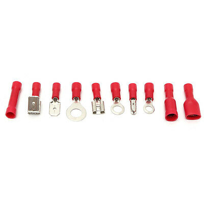 Electrical Wire Connector 720pcs Assorted Insulated Crimp Terminals Spade Set DH 10