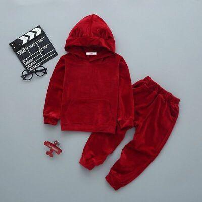 Boys Girls Set Pants Top Hoodie Tracksuit Long sleeve sets age 2 3 4 5 6 7 years 5