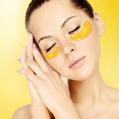 Premium Collagen Crystal Face Masks Anti Ageing Skin Care Gold White x5 x10 x50 5