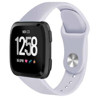 For Fitbit Versa Smartwatch Soft Silicone Replacement Sports Classic Band Strap 9