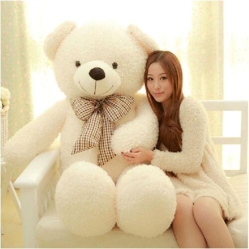 75CM Giant Big Plush Stuffed Teddy Bear Huge Soft 100% Cotton Toy Best Gift @ 4