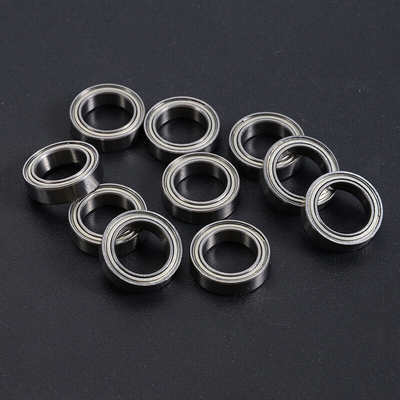 6700ZZ 10*15*4mm Deep Groove Metal Double Shielded Ball Bearing Thin Wall Roller 5