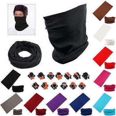 Multifunctional Tube Scarf Bandana Head Mask Neck Gaiter Snood Headwear Beanie