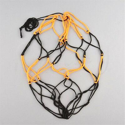 Nylon Net Bag Ball Carry Mesh Volleyball Basketball Football Soccer Useful w// ES